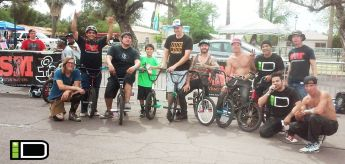 Competition demo with some living legends to help promote BMX within the large cycling community.