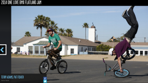 ESPN coverage for the 2014 One Love Flatland Jam